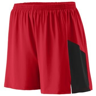 SMALL Sprint Short Adult RED BLACK