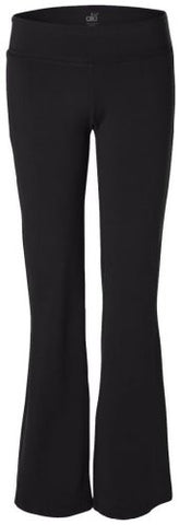 Yoga Clothing For You Ladies Yoga Pants - Tall Sizes, Small Black