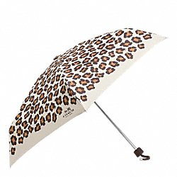 Ocelot Print Mini Umbrella (Coach F64148)