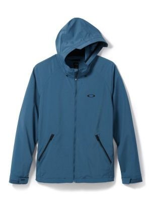 Oakley Men's Icon FZ Jacket Chino Blue Outerwear XL