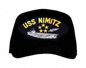 USS Nimitz 5-Stars Ship Ball Cap
