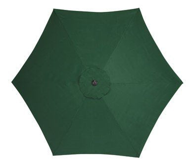 Living Accents Umbrella 9' D Polyester Green