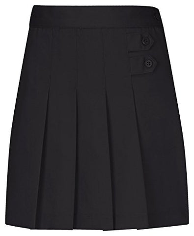 Classroom Uniforms Girls Pleated Tab Scooter_Black_14