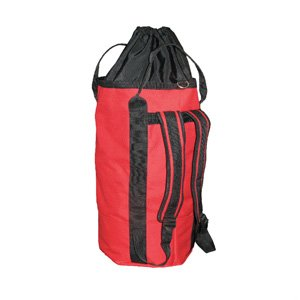 OPG Tall Rope Bag Backpack with drawstring top 44L Red