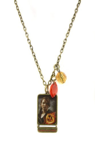NECA The Hunger Games Movie Necklace Single Chain Necklace  Girl on Fire  HGTAR