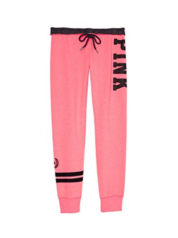 Victoria's Secret PINK Gym Pant Sweatpants Medium Coral Pink