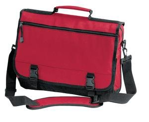 Port & Company - Basic Expandable Briefcase, Red