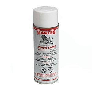 Master Quick Shine - 13 ounce can - Instant Shoe Shine