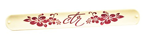 C40 - Heavenly Flower Slap Bracelet - CTR