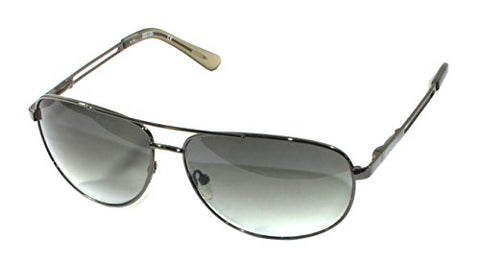 Kenneth Cole Reaction KC1069 Gunmetal Smoke Aviator Sunglasses