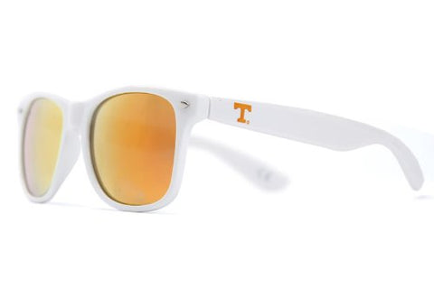 Society43 NCAA Throwbacks - Tennessee Volunteers White Sunglasses