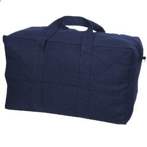 Navy Blue Military Parachute Cargo Bag