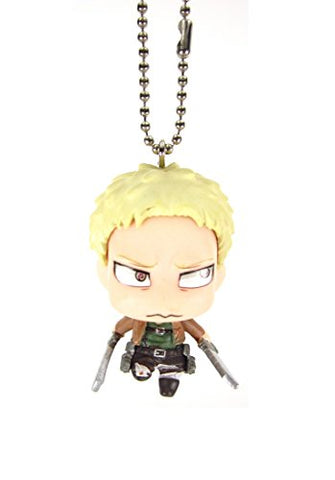Attack on Titan Chibi Chara Mascot Part3 Key Chain Figure 1.5 - Reiner Braun