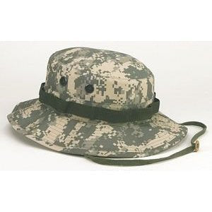 5891 NOT Kids Army Digital Boonie Hat (Size 7.5)