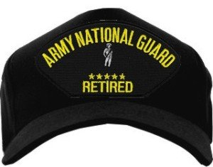 Army National Guard Retired Ballcap