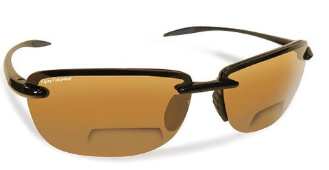 Flying Fisherman MA 7305BA-150 Cali Blk / Amber Reader / Sunglasses +1.50
