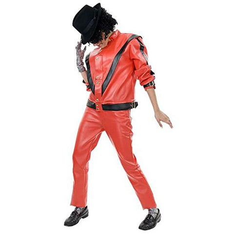 Adult Deluxe 80s Pop Star Thriller Costume Adult Standard