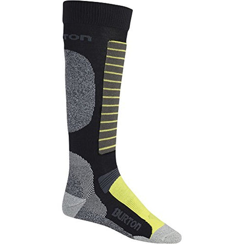 Burton Men's Merino Phase Socks, True Black, Medium