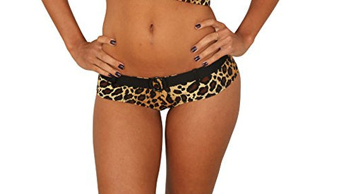 Leopard Booty Short By Sassy Assy