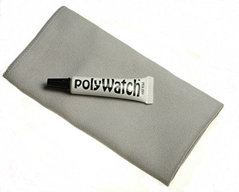Polywatch Watch Acrylic Plastic Crystal Restoration and Horosafe