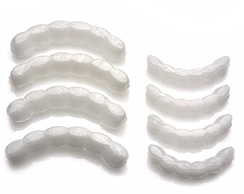 Grillz Molding Wax Fitting Silicone Fixing Bar Top & Bottom Grillz 8pc Set (4/4) MBTB4