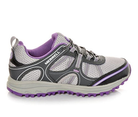 MERRELL Trail Hace Women Shoes, Granite/Royal Lilac, 5.5 M