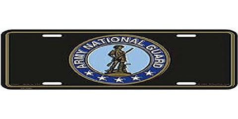 Military Car Tag // U.S. Army National Guard