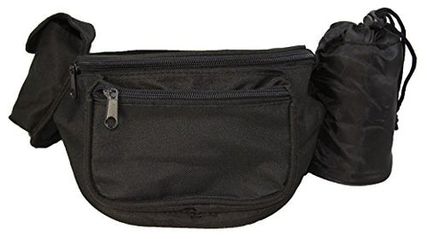 Poly Fanny Pack With Bottle Holder and Cell Pouch