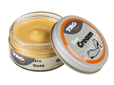 TRG the One Metallic Shoe Cream - 1.7 Ounces, Gold