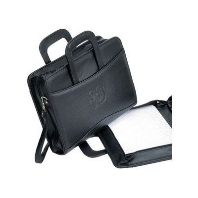 Bellino 3-Ring Laptop-Around Binder Briefcase Color: Black