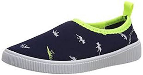 Carter's Toddler Floatie-B Slip On Shoes, (Navy/Yellow, 1)
