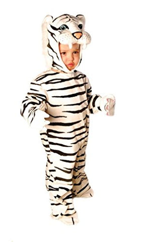Tiger Toddler Costume Black White - Medium