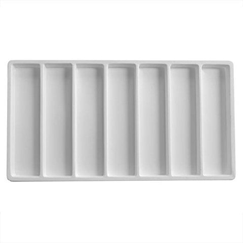 Tray Liner-07 Compartment-Full Size White