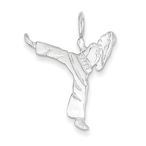 Sterling Silver Karate Charm