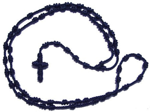 Knotted Rosary Spiritual Necklace