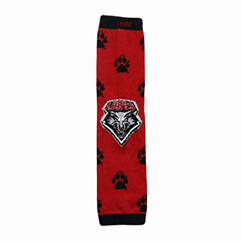 University of New Mexico Lobos Baby and Child Leg Warmers - Large Logo