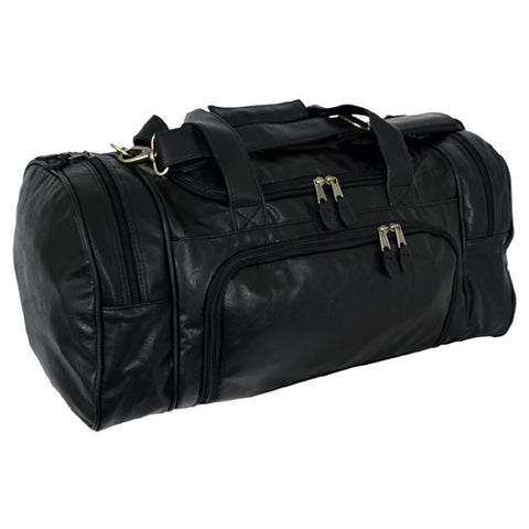 Simulated Leather Carry-On Sport Locker Bag