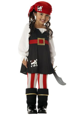 Little Girls' Pirate Costume X-Large (6-8)