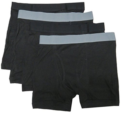 Bodyglove Men's Boxer Briefs, Size X-Large 40/42, Color Black