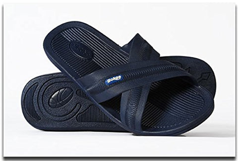 Bokos Sandals Mens Blue Sz 11