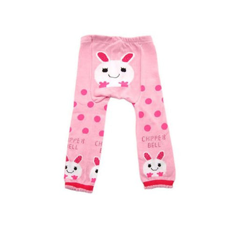 Wrapables Baby & Toddler Leggings, Chipper Bell Bunny - 12 to 24 Months