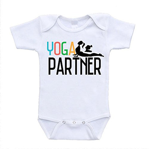 Yoga Partner Baby Onesies Custom Cool Infant Baby Clothing (18 Months)