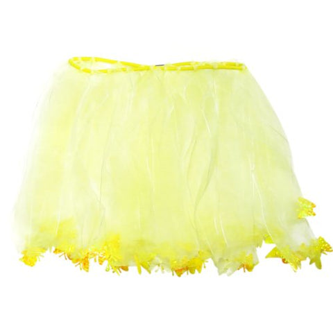 Wrapables Princess Fairy Tutu Dress-Up Skirt, Yellow