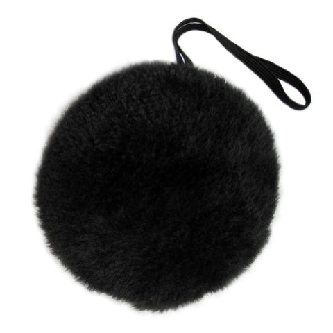 SeasonsTrading Black Plush Bunny Tail ~ Halloween Easter Rabbit Costume