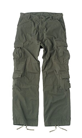 Rothco Vintage Olive Drab Paratrooper Fatigue Pants 2786 [Misc.]