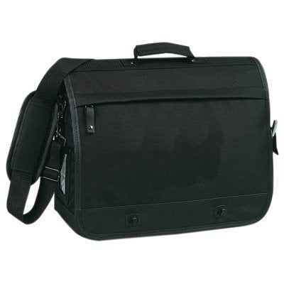 Yens Fantasybag Casual Full Flap Briefcase-Black, AC-6693