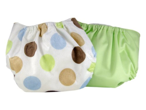 Pam Grace Creations 2 Piece Cloth Diaper,  Polka Dots