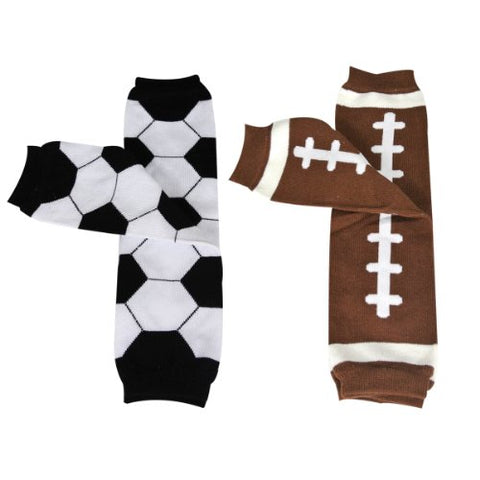 Wrapables Colorful Baby Leg Warmers (Set of 2) - Sporty