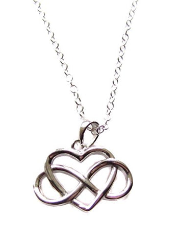ACIM A Course in Miracles Inspired Eternal Love Sterling Silver Necklace