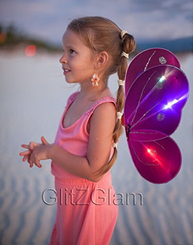 Butterfly Wing / Fairy Wing Costume for Girls - Glow in the Dark